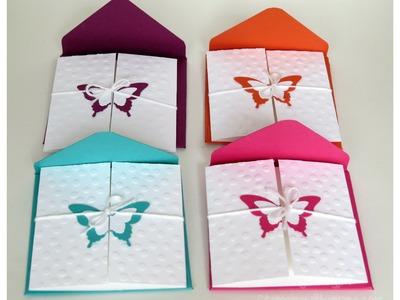 3 x 3 Elegant Butterfly Card Set