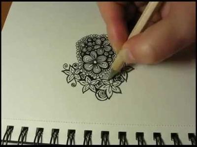 Art Journal Doodles: Floral