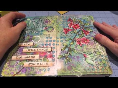 Art Journal Page Share