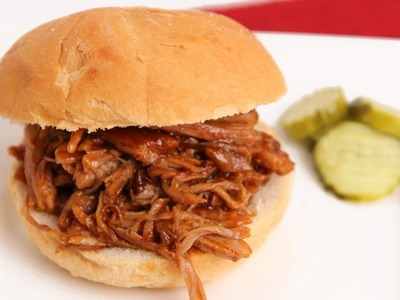 BBQ Pulled Pork Recipe - Laura Vitale - Laura in the Kitchen Episode 765