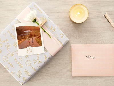 Be Inspired to Wrap your Mother's Day Gifts in Style
