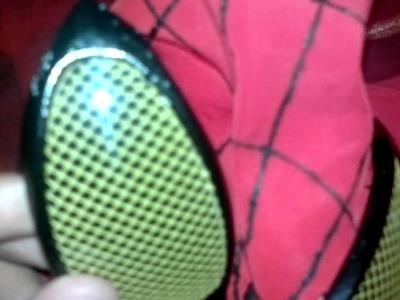 ¿Como Hacer La Mascara De The Amazing Spider-Man 2? Parte 2