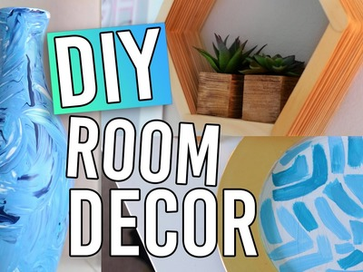 DIY Room Decor! Inexpensive & Easy!!