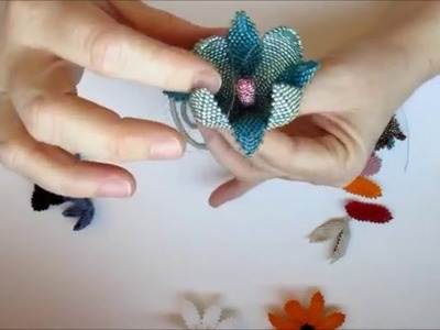 From Petal to Pod - a few examples of what you can do with dimensional peyote petals