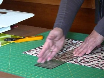 "How to cut 6 1.2"" squares from fabric - Quilting Tips & Techniques 142"