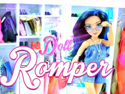 How to Make a Doll Romper - Doll Crafts