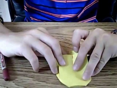 How to Make a Paper Origami Batwing (From Batman)