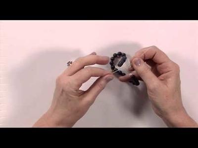 How to Make a Stretchy Gemstone Bracelet