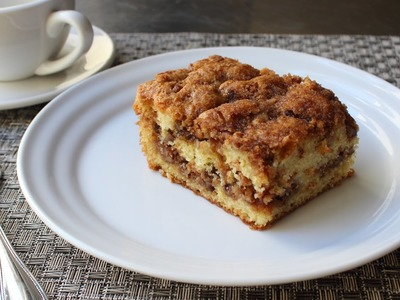Pecan Sour Cream Coffee Cake Recipe - How to Make a Crumb Cake