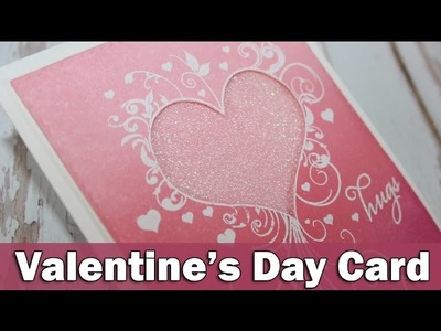 Valentine's day card | Featuring Penny Black
