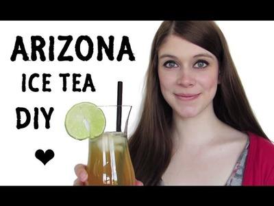 Arizona Ice Tea - SELF MADE! | DIY