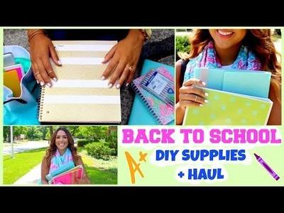 Back to School DIY Cute Supplies + Haul!