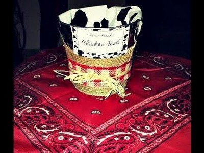 ★ Birthday on a Budget: Dollar Tree Barnyard Themed Centerpieces DIY! ★