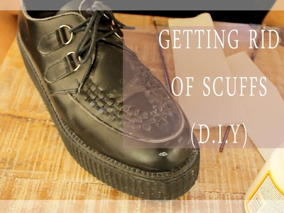 D.I.Y. How To Get Rid Of Scuffs.Scrapes On Shoes (Really Easy, Affordable and Fast!)