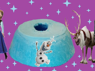 Disney Frozen Ice Volcano!! DIY Frozen Fever Fun Videos!!