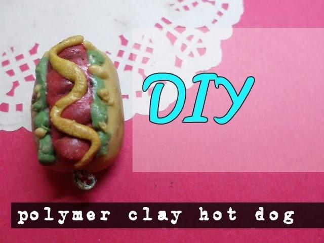 #DIY Clay HOT DOG