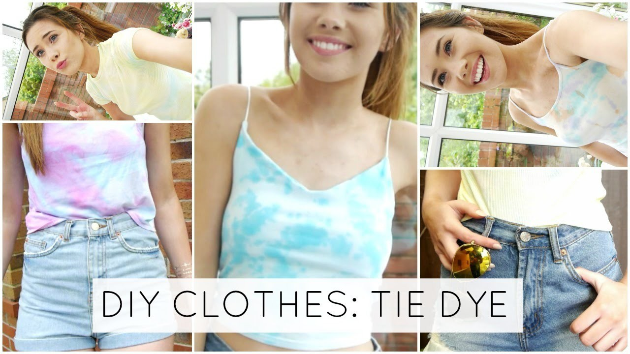 DIY Clothes - Tie Dye For Summer!