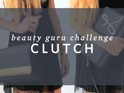 DIY Clutch for Grade 8 Grad- Beauty Guru Challenge 1