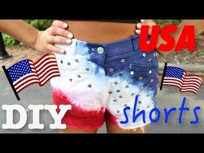 DIY USA SHORTS