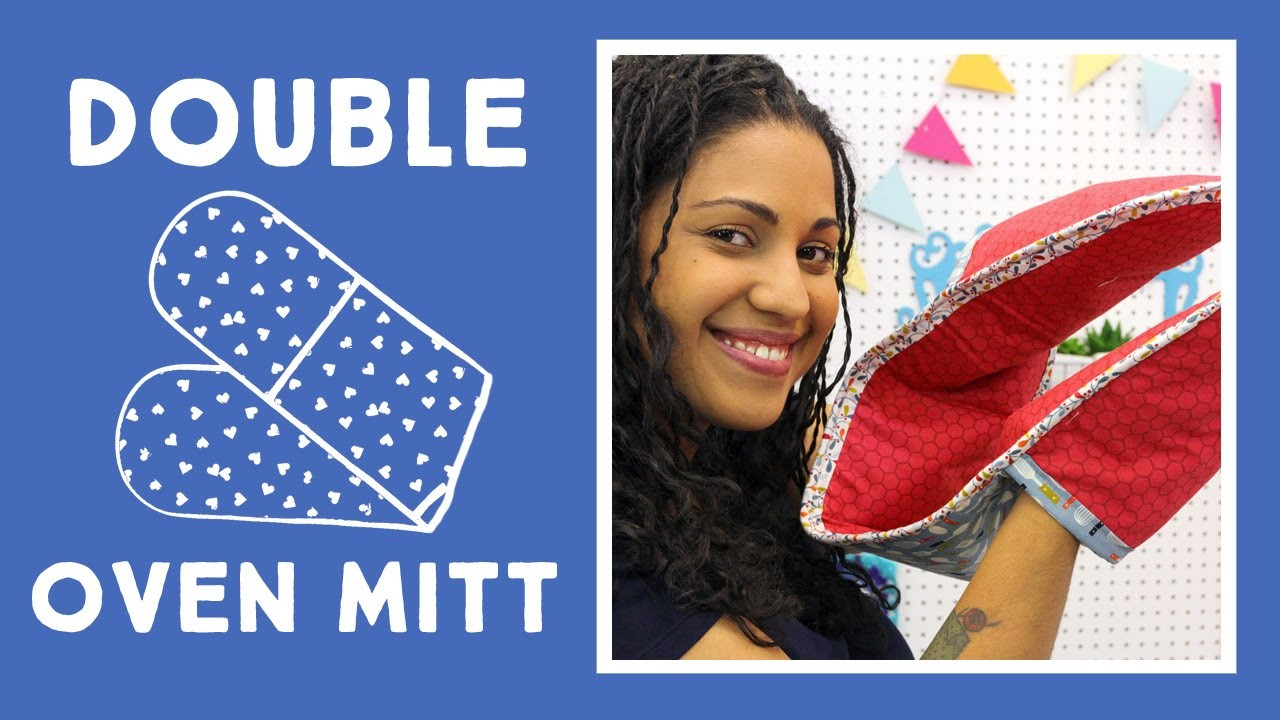 Easy DIY Double Oven Mitt