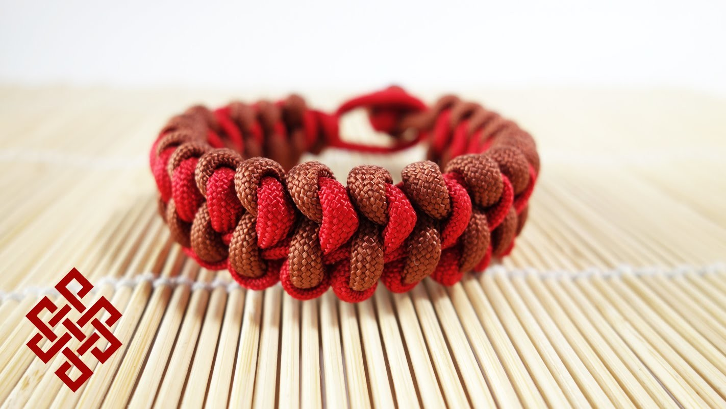 Emperor Snake Knot Bracelet Tutorial