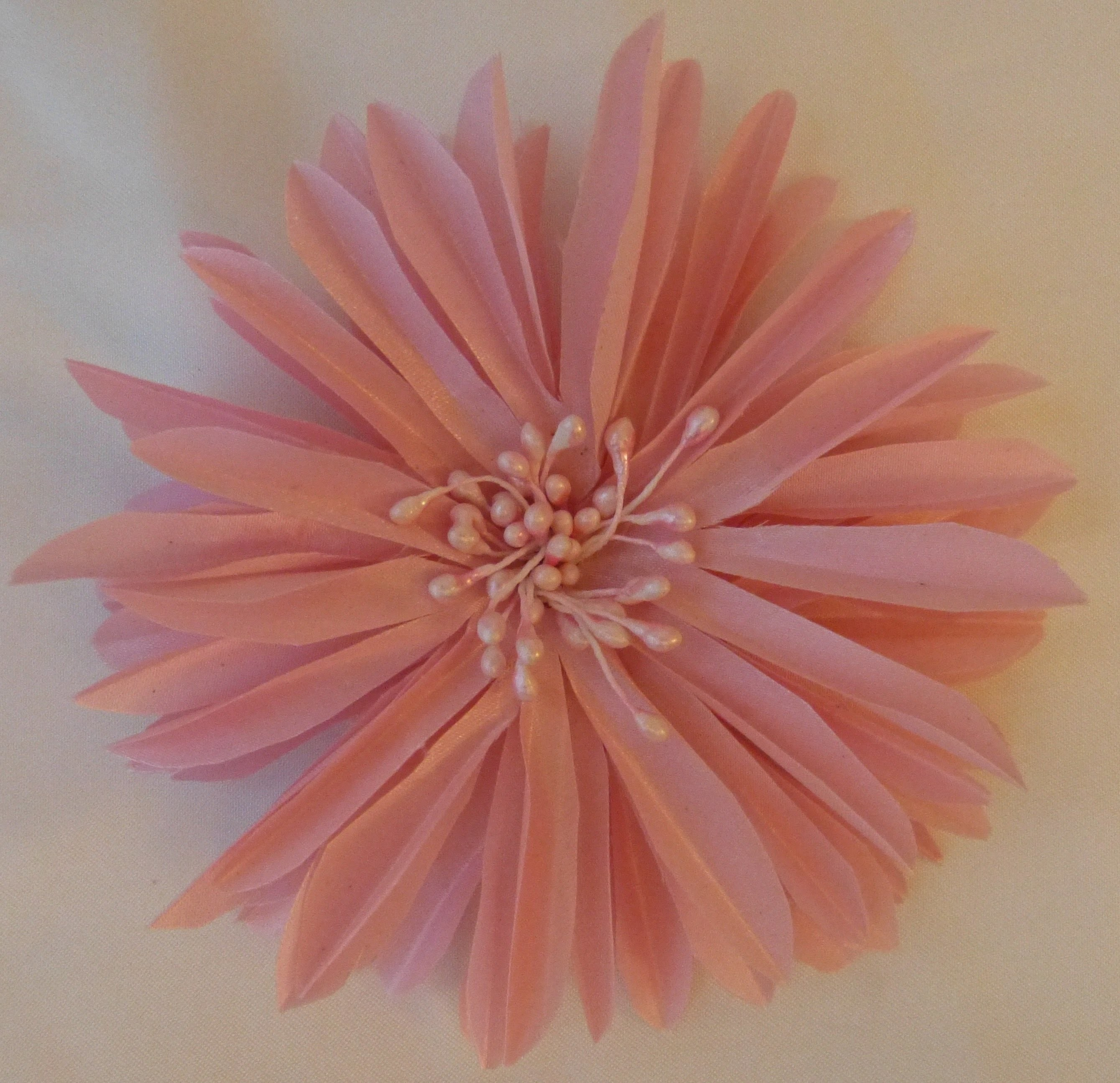 Fabric flower tutorial live show (Recorded)