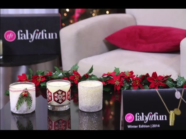 Holiday Candle DIY