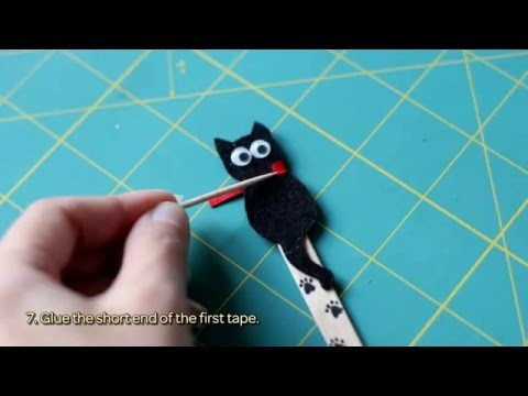 How To Make A Funny Cat Bookmark - DIY Crafts Tutorial - Guidecentral