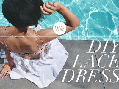 How to Make a Lace Beach Dress
