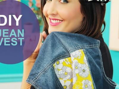 How to Spice Up a Denim Vest: The DIY Challenge on The Mom's View