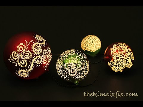 Illuminated Etched Ornaments (Dremel Tutorial)