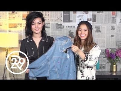 Jenn Im Makes A DIY Friendship Jacket
