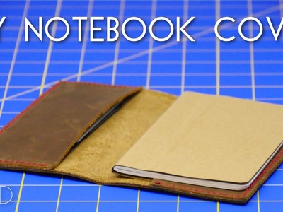 Mini MOD Monday: DIY Leather Notebook Cover