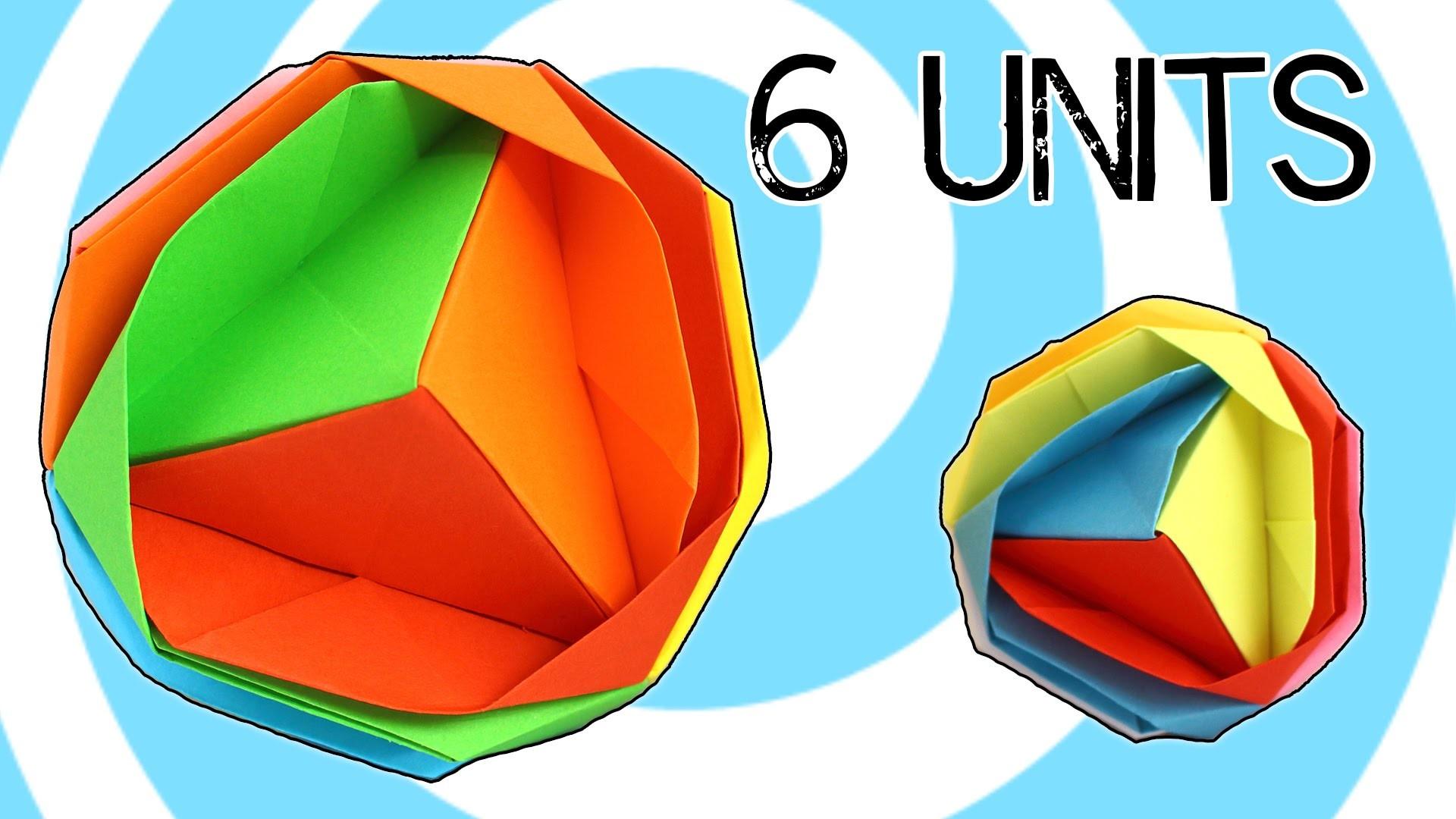 Modular Origami Japanese Brocade Tutorial (Ishibashi Minako)