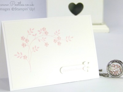 South Hill Designs & Stampin' Up! Sunday Simple Card & Locket Tutorial