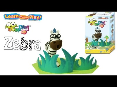 Zebra - Modelling Clay Tutorial by JumpingClay