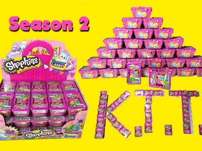 20 Shopkins Season 2 Blind Basket Unboxing with Ultra Rares