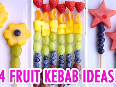 4 Easy & Healthy Fruit Kebabs! - HGTV Handmade