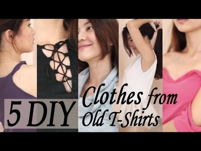 5 DIY Clothes From Old T-Shirts | Venezia Lowis