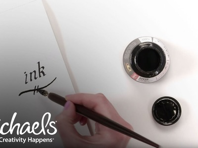 Art Supply Basics: Calligraphy Tools   Extras: Crafts & Hobbies   Michaels