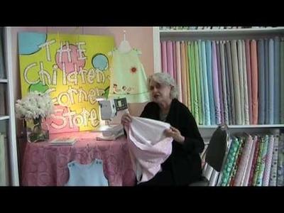 Bottom of Lined Garment 2- Instruction - Children's Corner