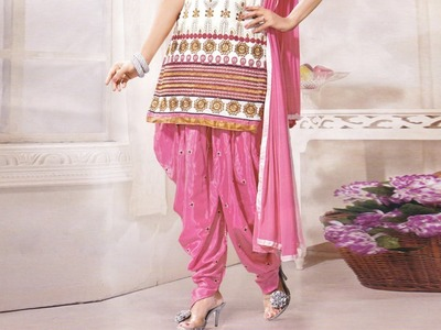 Butterfly Shalwar cutting with measurements