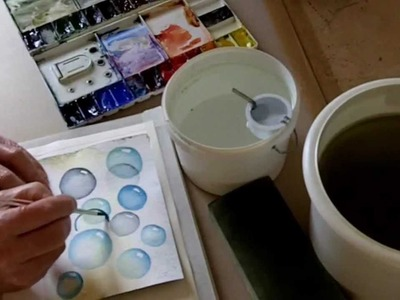 Controlling Watercolour. A simple tool will help you paint better.