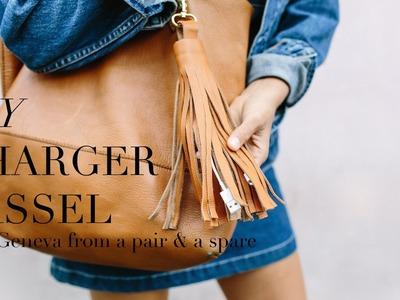 DIY Charger Tassel