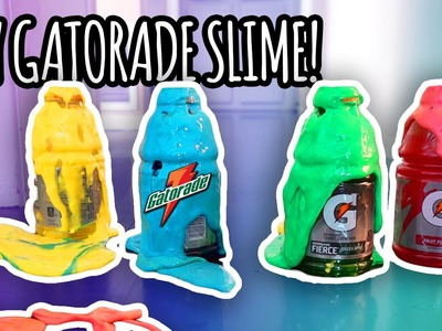 DIY Gatorade Slime! | Super Fun & Easy!