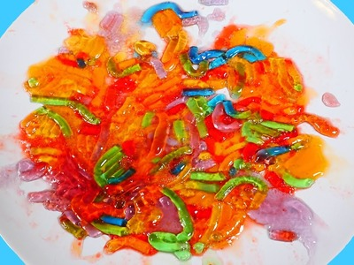 DIY Jello Gummy Worms | Rainbow Color Sweet Treats - How To Videos