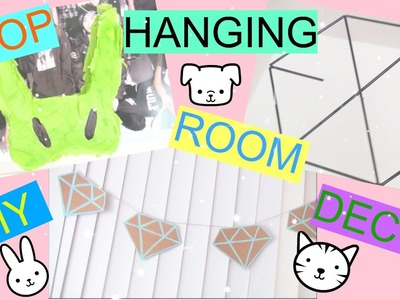 DIY KPOP HANGING ROOM DECOR! | PrettyPrinceJin