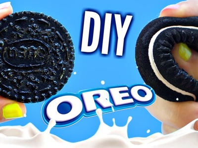 DIY OREO SQUISHY | No Mold Tutorial | EASY DIY Toys for Kids