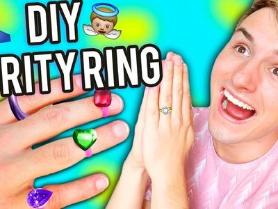 DIY PURITY RING !!