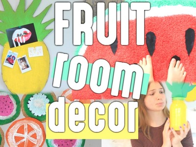 DIY Summer Room Decor (FRUIT INSPIRED)